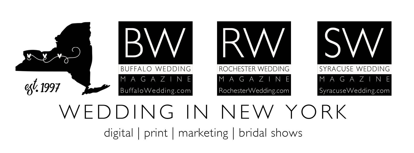 Wedding In New York Logos
