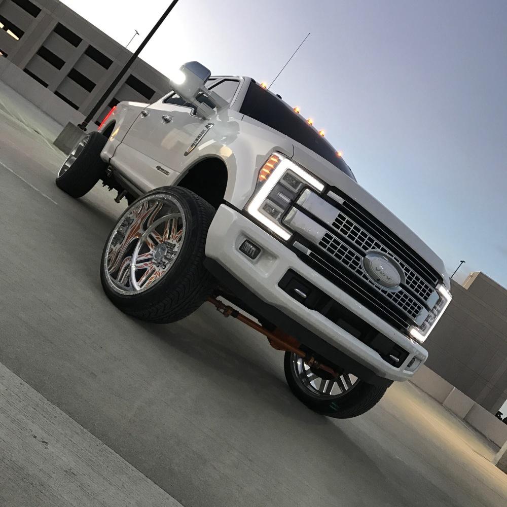 Truck Platinum: 2017 F-250 Platinum Build