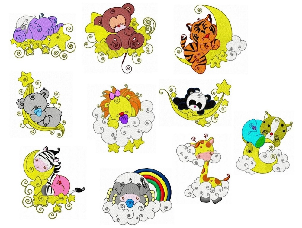 Zoo Animals Embroidery Designs - Bing Images