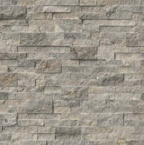 Silver Travertine Panel