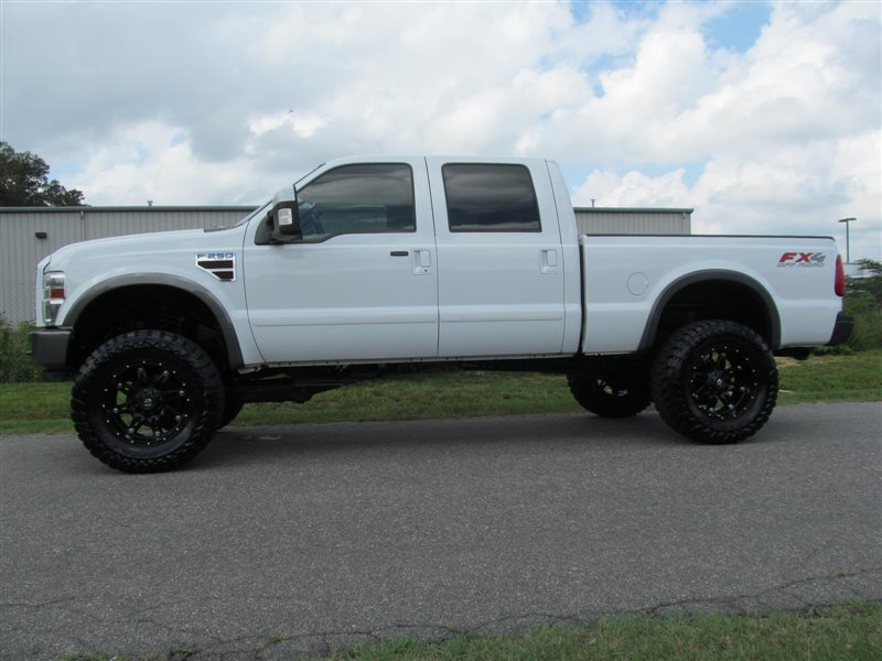 2008 ford f 250 diesel lifted super duty lariat fx4 4x4 crew cab find diesel trucks diesel. Black Bedroom Furniture Sets. Home Design Ideas