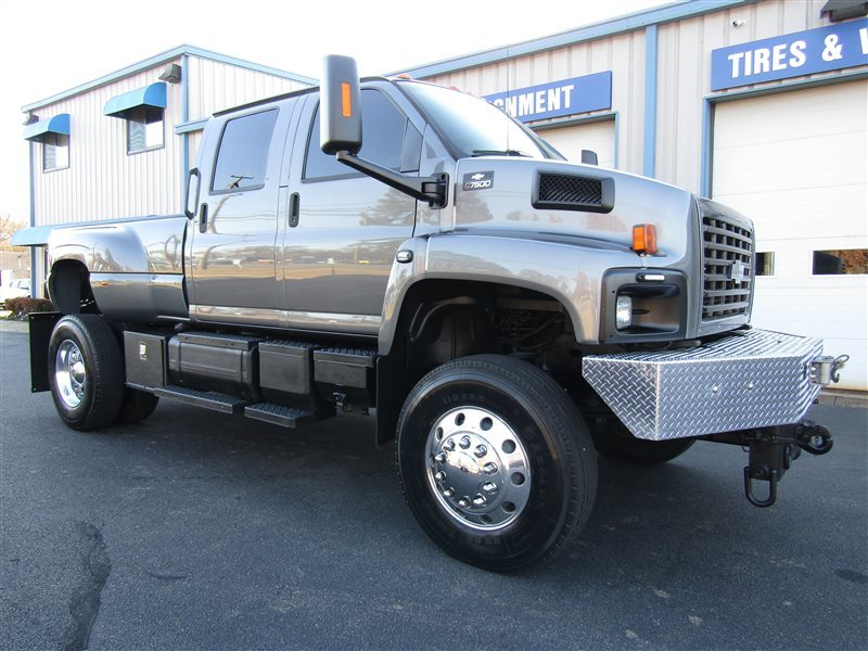 Chevy Dealers In Va >> 2004 Chevrolet Kodiak Topkick C7500 Diesel 4X4 Monster CAT ...