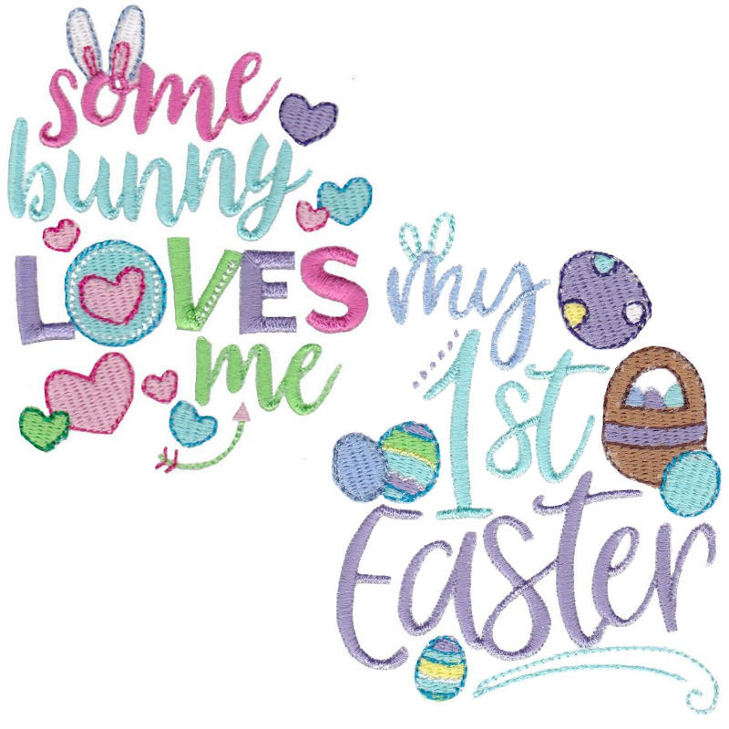 Easter Sentiments Four Set 12 Designs 2 Sizes Products Swak