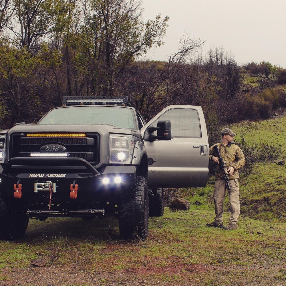 Build A Truck Ford: 2014 Ford F250 SUPER DUTY FULL SEMA BUILD OVERLAND TRUCK