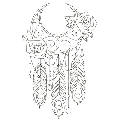 Dream Catchers Linework Set Products SWAK Embroidery Delectable Set It Off Dream Catcher