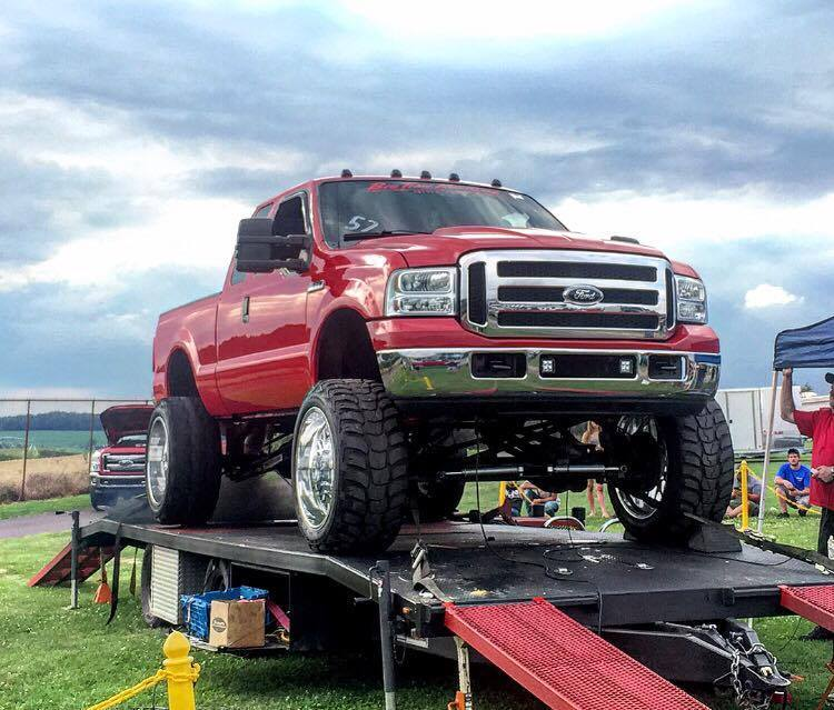 1000hp compound turbo 2006 ford f 350 show truck find. Black Bedroom Furniture Sets. Home Design Ideas
