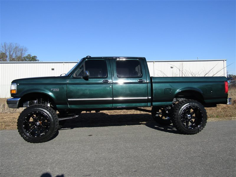 obs ford 1995 centurion lifted 150 4x4 axle conversion xlt solid f150 cab truck crew trucks diesel bed short sellerz
