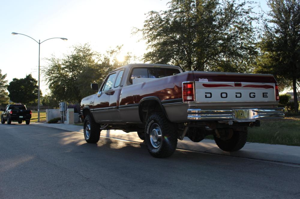 1992 Dodge Ram W250 Ext cab Cummins 4X4 | Find Diesel ...