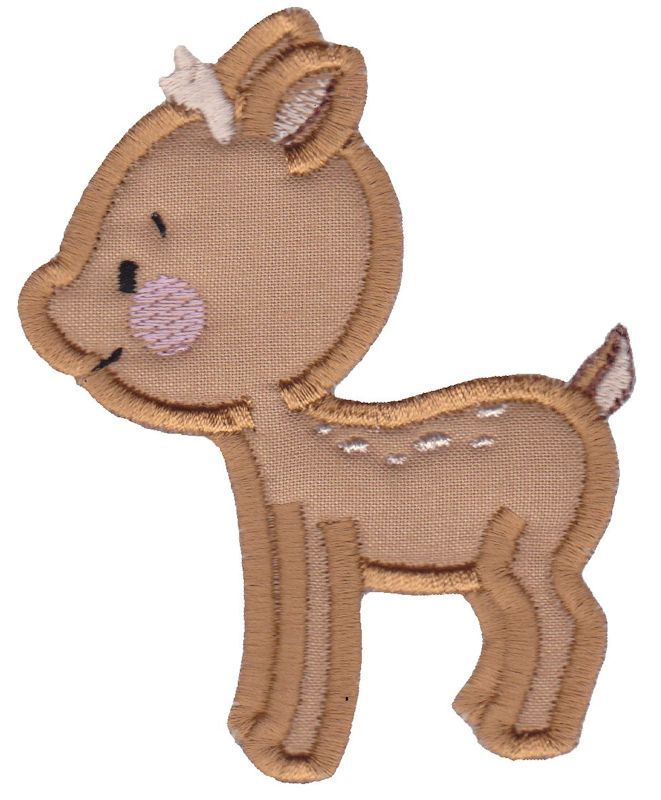 Cute Forest Animals Applique 3 3 Sizes Products Swak Embroidery