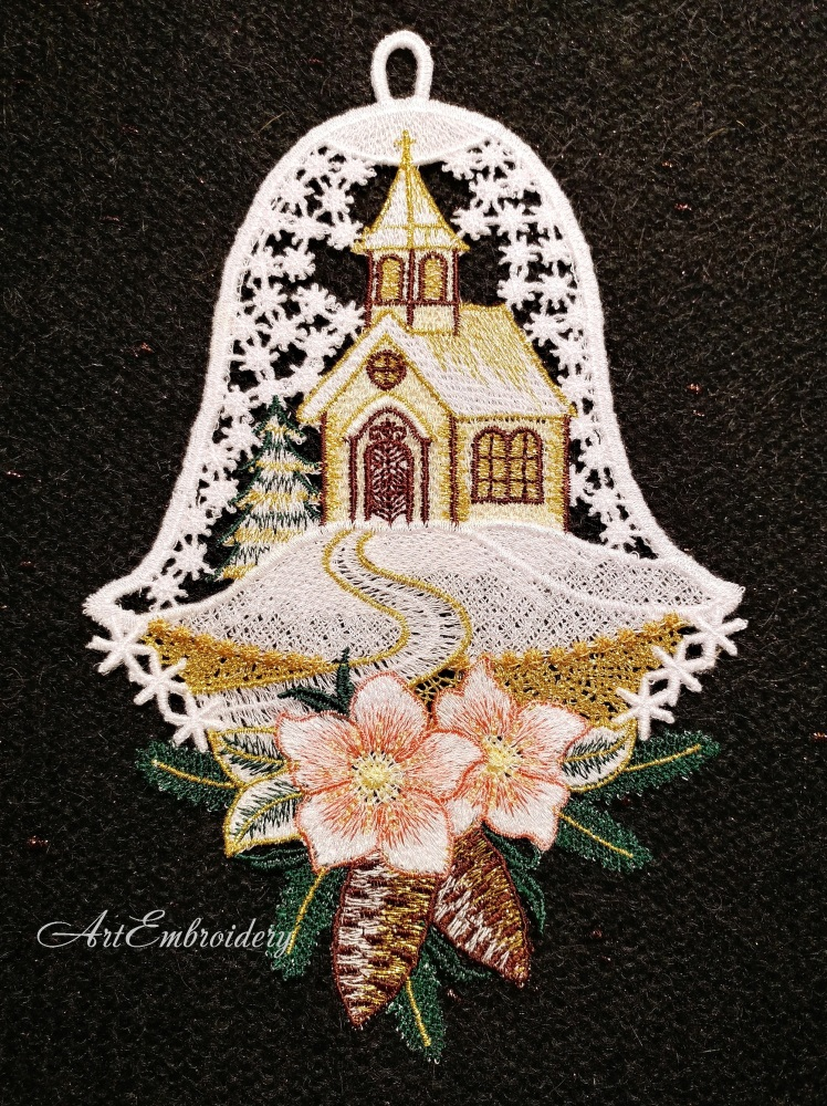 vip_FSL Christmas Bell - 2 Sizes! - Products - SWAK Embroidery