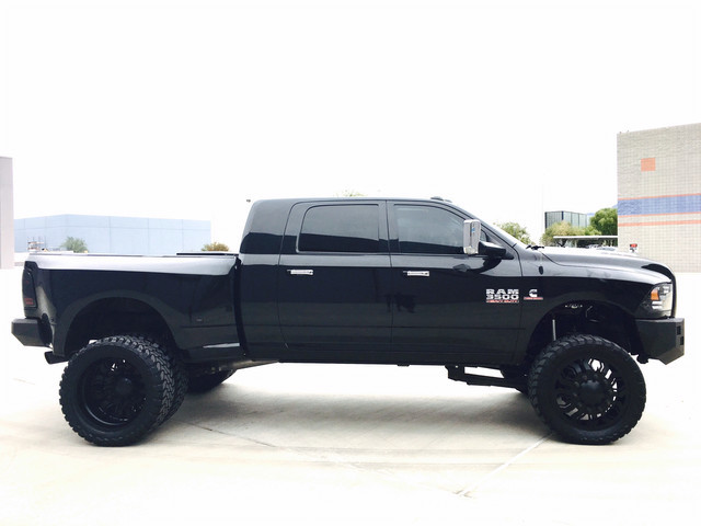 2015 Ram 3500 Longhorn Limited Mega Cab Kelderman Air Ride