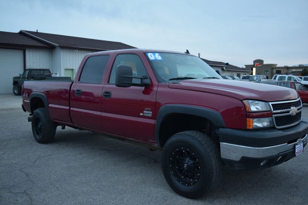 ALL STAR AUTO SALES-2006 RED CHEVY DURAMAX LBZ 1 TON ...