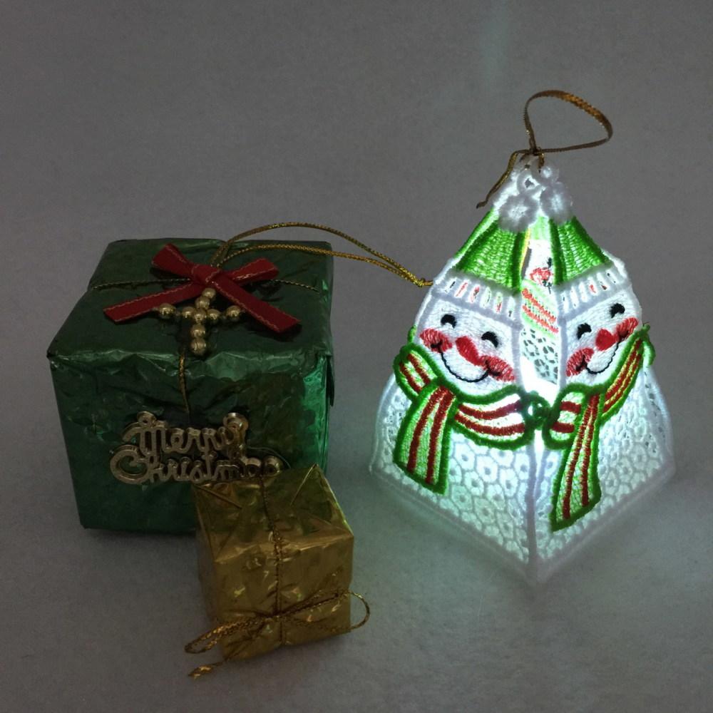 3d fsl christmas tea lights 2 set