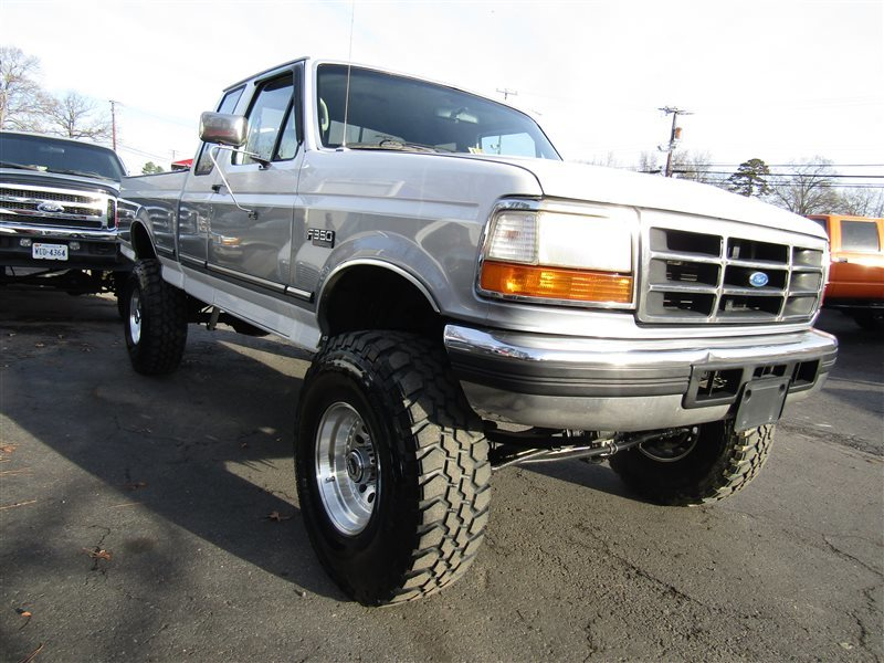 1996 Ford F 250 Xlt Lifted Obs Classic Big Block 460 4x4