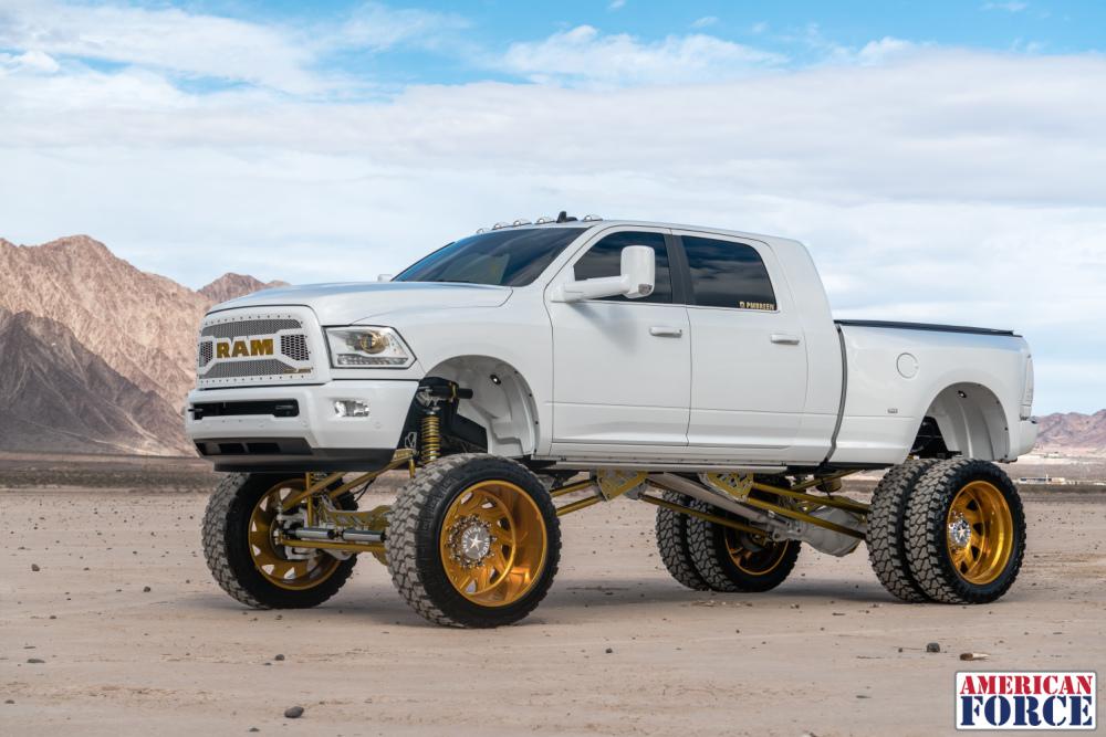 Plan B Patrick Fools Gold Dodge Ram X Pyscho Sd Pmbreen on Dodge Ram 3500 Front