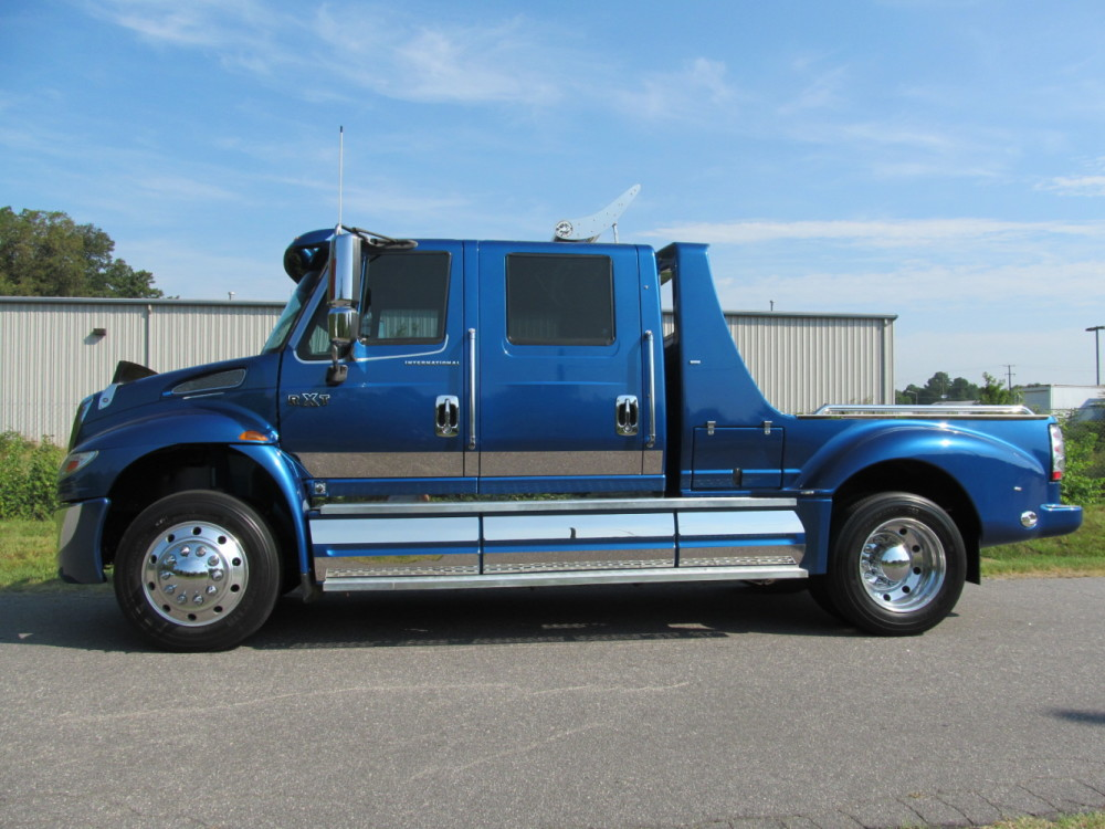 2007 International Rxt 4300 4700 Diesel Crew Cab Hauler