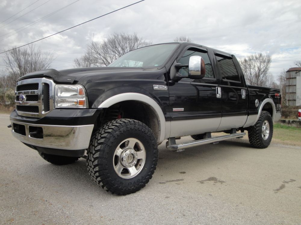 2005 ford f250 crew cab lariat 4x4 find diesel trucks diesel sellerz. Black Bedroom Furniture Sets. Home Design Ideas